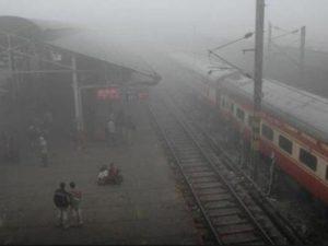 Rain and snowfall in North India