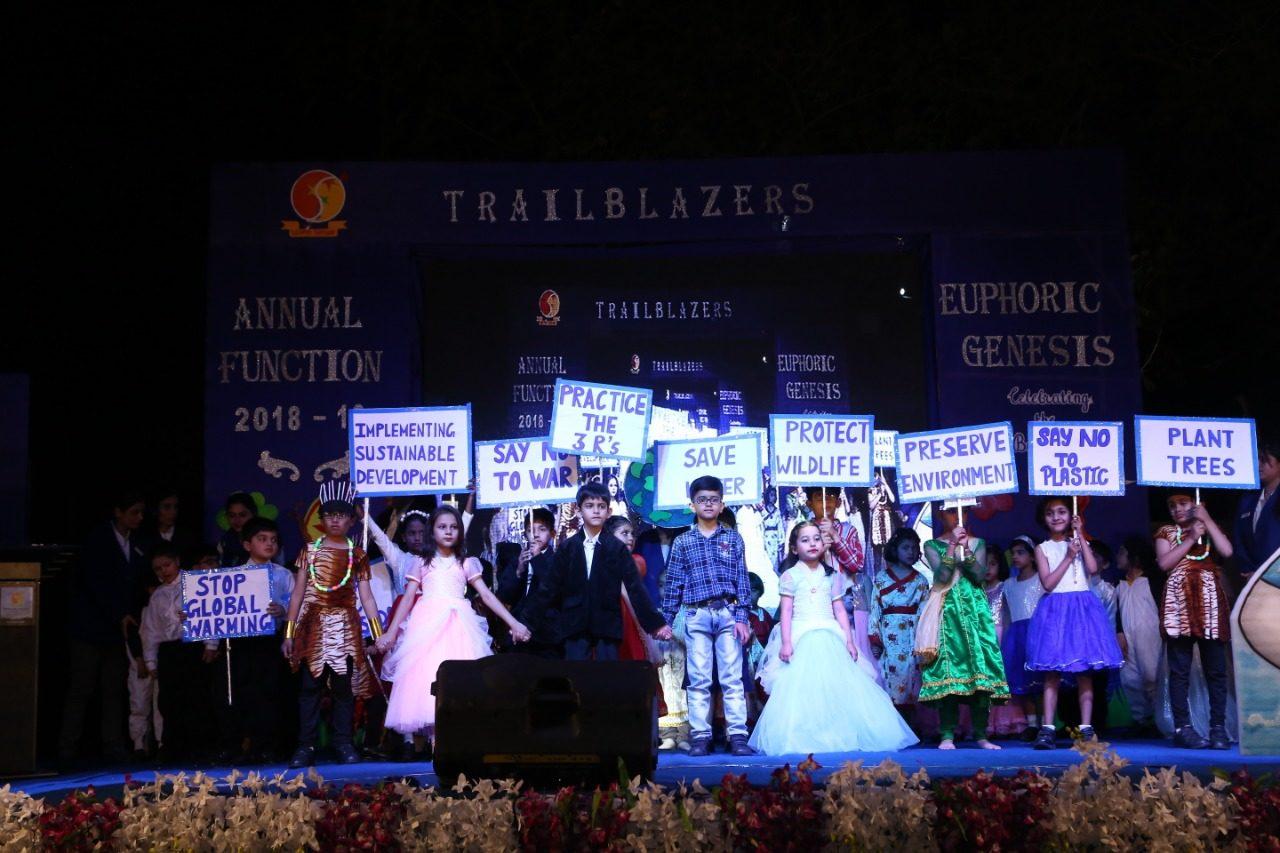 Trailblazers International School celebrates his first